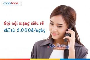 Gọi nội mạng siêu rẻ với các gói khuyến mãi gọi 1 ngày của Mobifone
