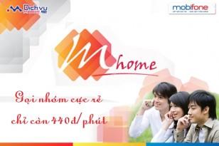 Gọi thoại cực tiết kiệm cho người thân với gói trả sau M-Home Mobifone