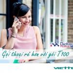 Đăng ký gói T100 Viettel gọi thoại siêu rẻ không lo hết tiền