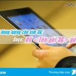 Hướng dẫn đăng ký dung lượng data cho sim 3G Vinaphone 2017