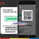 Cách nạp tiền bằng QR Code qua ứng dụng Mobi NEXT của Mobifone