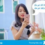 Với 100k bạn đăng ký được các gói 3G nào của Vinaphone ?