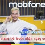 Khuyến mãi hòa mạng trả trước Mobifone tháng 01/2017 nhiều ưu đãi khủng