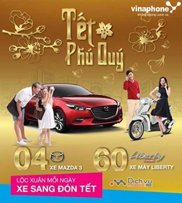 Vinaphone trao thưởng khủng với CTKM Lộc xuân mỗi ngày, xe sang đón Tết