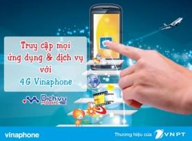 Các gói 4G Vinaphone mới triển khai năm 2017
