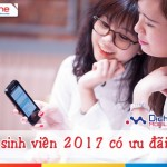 Các khuyến mãi hấp dẫn dành cho sim sinh viên Mobifone 2017