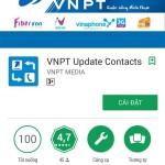 Hướng dẫn cập nhật mã vùng điện thoại với ứng dụng VNPT Update Contacts