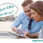 Hướng dẫn cách hủy gói cước KM50 cho sim Dcom Viettel qua 191