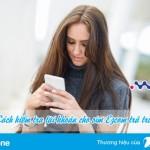 Hướng dẫn tra cứu thông tin tài khoản cho sim Ezcom Vinaphone