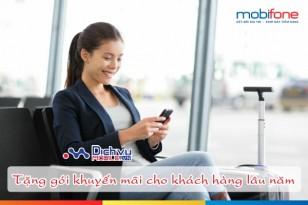 Mobifone tặng 70 phút nội mạng và SMS tri ân khách hàng lâu năm