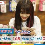 Cách mua thêm 1GB data 3G Mobifone với gói NAP28 chỉ 28.000đ