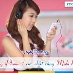 Tham gia chương trình Mobi Radio Mobifone trúng ngay iPhone 7 cực chất