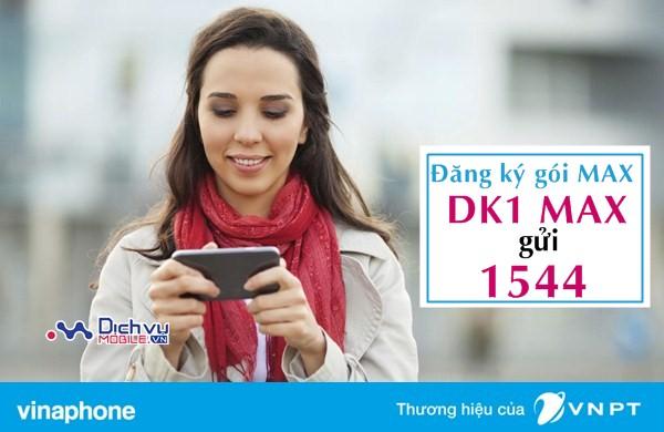 Tận hưởng ưu đãi 600MB trọn gói với gói 3G MAX Vinaphone năm 2017