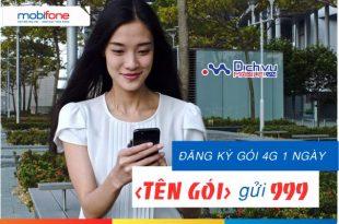 Truy cập mạng giá rẻ với các gói 4G ngày Mobifone dùng trong 24h