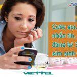 Ưu đãi cước phí gọi, nhắn tin, đăng ký 3G Viettel dành cho Tân sinh viên 2017