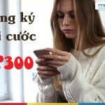 Đăng ký gói DP300 Mobifone ưu đãi 6GB data, 300 phút và 300 tin nhắn nội mạng