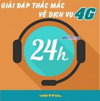 Giải đáp thắc mắc thường gặp về dịch vụ mạng 4G Viettel