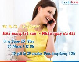 Khuyến mãi hòa mạng trả sau Mobifone tại Hà Nội