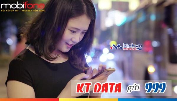 Hướng dẫn kiểm tra lưu lượng data 4G Mobifone
