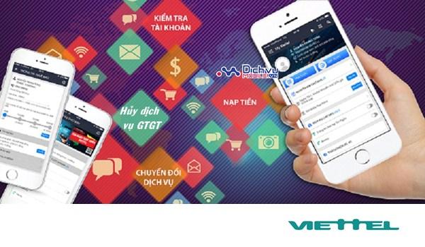 Hủy các dịch vụ GTGT qua ứng dụng My Viettel với thao tác cực đơn giản