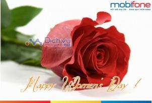 Lước web xả láng dịp 8-3 với gói cước data Bông hồng của Mobifone