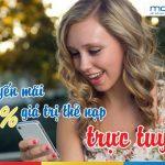 Mobifone khuyến mãi tặng 50% thẻ nạp trực truyến ngày 25/5/2017