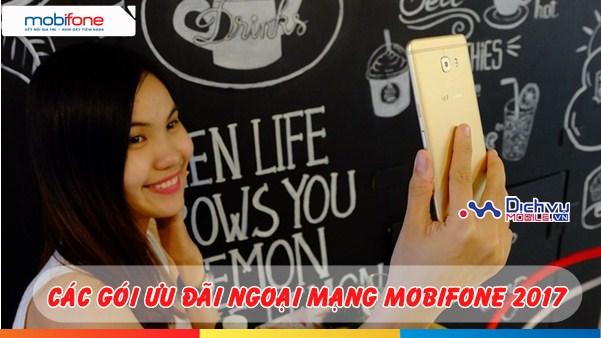 Tổng hợp các gói khuyến mãi gọi ngoại mạng Mobifone năm 2017