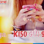 Đăng ký gói K150 Mobifone nhận ngay ưu đãi 250 phút gọi thoại