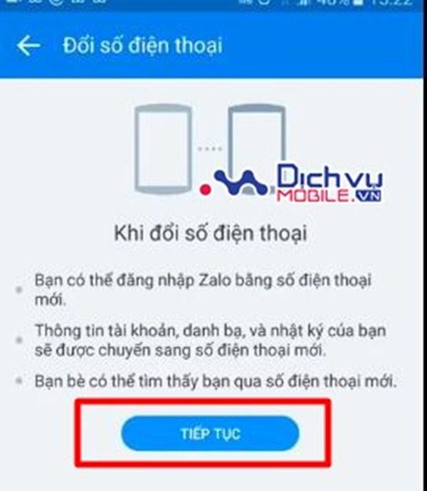 Hướng dẫn đổi số điện thoại đăng ký tài khoản Zalo nhanh nhất