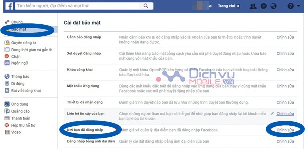 Hướng dẫn thoát tài khoản Facebook từ xa khi quên đăng xuất trên thiết bị lạ