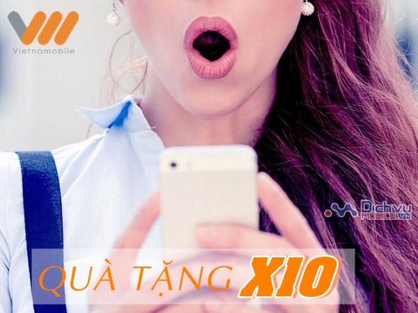 """Vietnamobile khuyến mãi hấp dẫn với chương trình """"Quà tặng X10"""""""