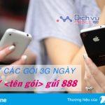 Hướng dẫn cách hủy 3G Vinaphone 1 ngày qua tin nhắn gửi đến 888