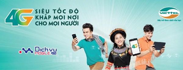 Viettel chính thức hoàn thành phủ sóng 4G toàn quốc từ ngày 10/4/2017