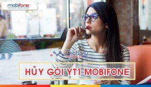 Cách hủy gói YT1 Mobifone - Hủy gói xem Youtube ngày Mobifone