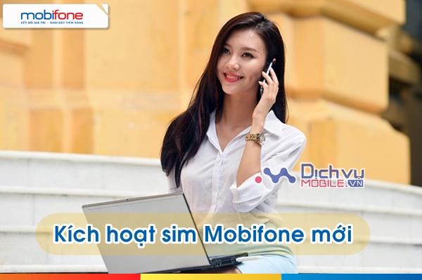 Cách kích hoạt sim Mobifone mới