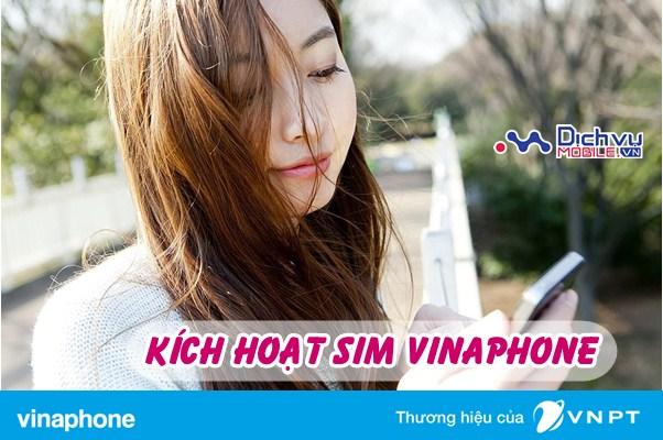 Cách kích hoạt sim Vinaphone miễn phí khi mới hòa mạng