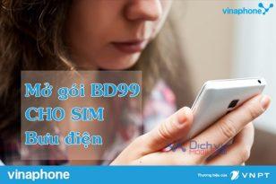 Cách mở gói BD99 cho sim bưu điện Vinaphone
