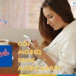 Cách chuyển gói cước từ MobiQ sang MobiCard cho sim Mobifone trả trước