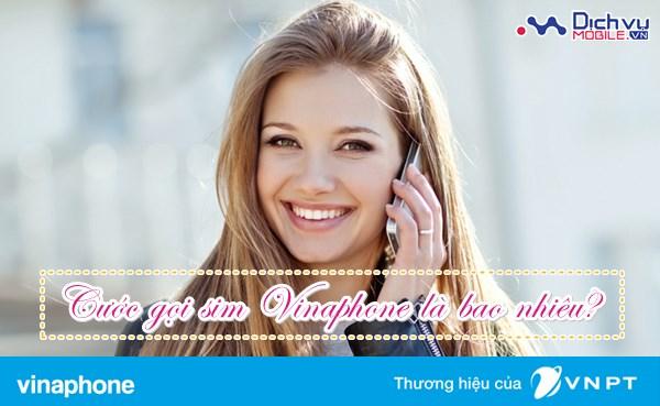 Cước phí gọi nội mạng, ngoại mạng sim Vinaphone