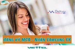Đăng ký MCA Viettel nhận ngay Samsung Glaxy S8