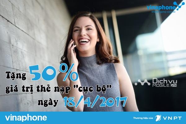 tang 50% gia tri the nap vinaphone