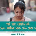 Các thủ tục và cách chuyển đổi từ sim thường sang sim sinh viên Viettel