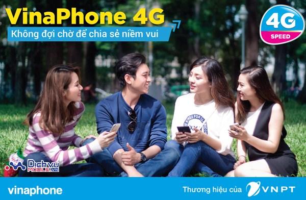 Vinaphone thử nghiệm các gói 4G Speed trên toàn quốc