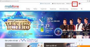Hướng dẫn đăng ký tài khoản Mobifone Protal qua Web Mobifone.vn