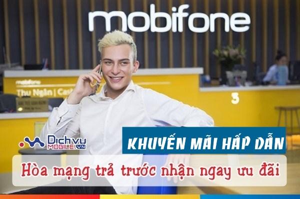 Hòa mạng trả trước Mobifone