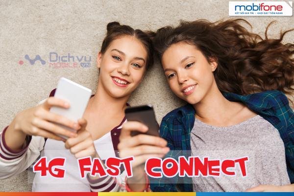 Đăng ký 4G Fast Connect Mobifone