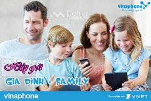 Cách hủy gói cước gia đình Family Vinaphone