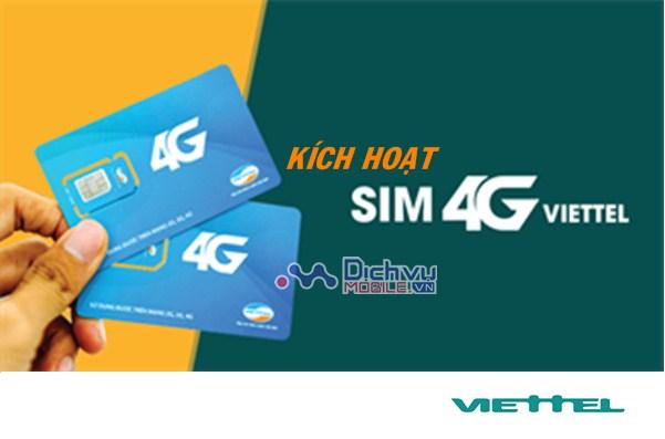 Cách kích hoạt sim 4G Viettel sau khi hoà mạng mới/ chuyển đổi thành công