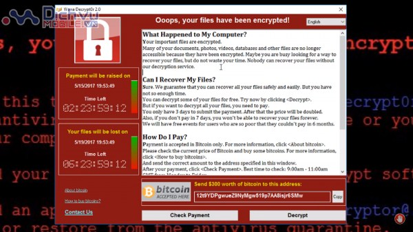 Cách kiểm tra và phòng chống mã độc tống tiền WannaCry người dùng máy tính nên biết