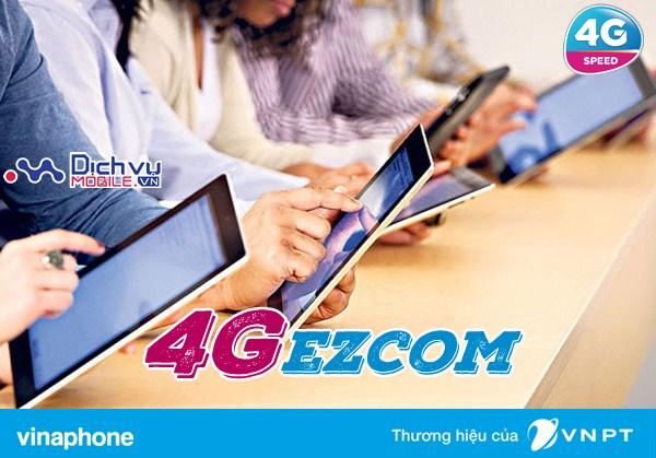 Hướng dẫn đăng ký các gói 4G Vinaphone cho thuê bao Ezcom